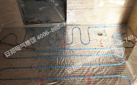 卫生间发热电缆采暖安装图